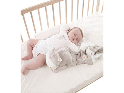 Ergonomic Baby Cushion With Soft Toy & Doudou