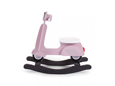 Wooden Scooter Pink