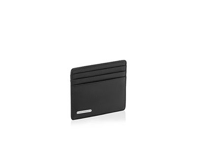 Leather Cardholder Classic Line 2.0 H4 Black