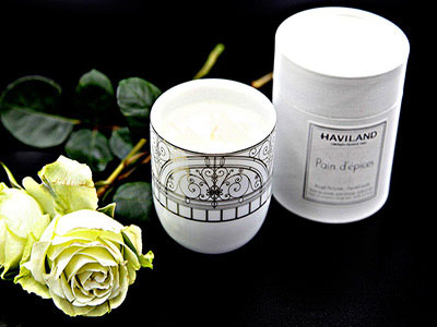 Belle Epoque Big Scented Candle Platine