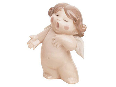 Sing Song Porcelain Figurine