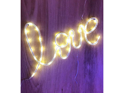 Love Wall Light
