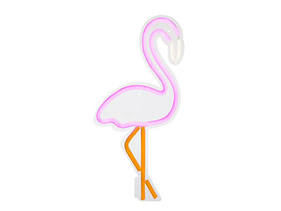 Flamingo Neon Wall Light