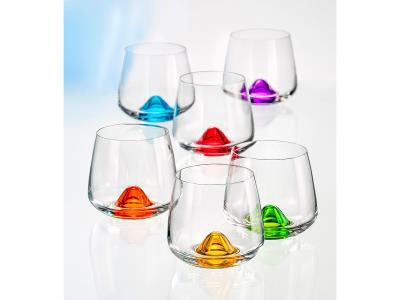 Colored Tumbler - Set of 6