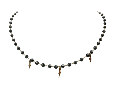 Necklace with Emathyte and Thunders