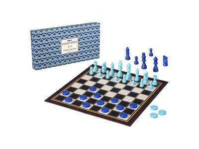 Chess and Checkers Game Board