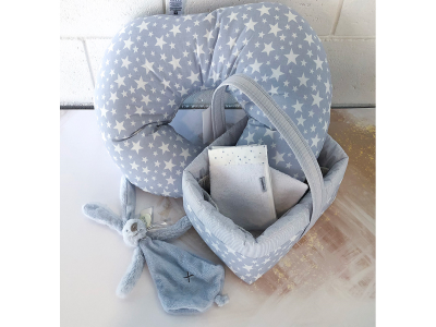 Baby Shower Mega Gift Bundle- Blue