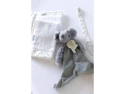 Baby Shower Mini Gift Bundle- Grey