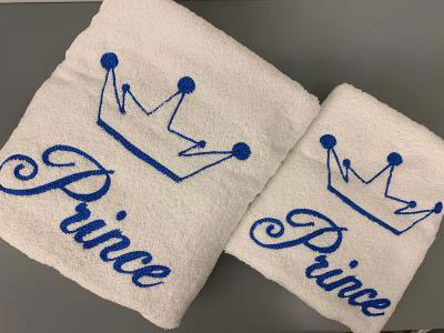 Prince Set of 2 Towels