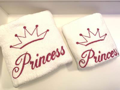 Princess Set of 2 Towels