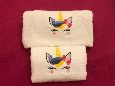 Unicorn Set of 2 Towels