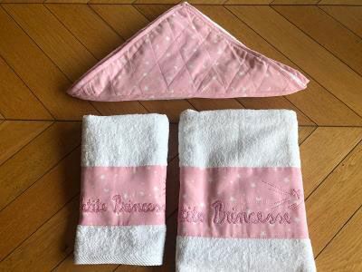 Baby Girl Set of Towels