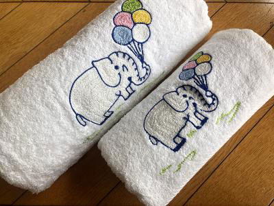 Elephant Set of 2Towels