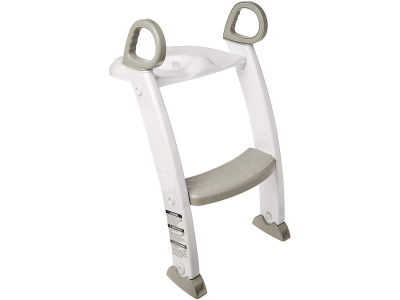 Spuddies Potty with Ladder, White/Gray, One