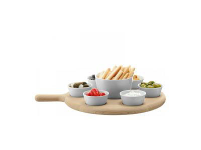 LSA Paddle with 7 Bowls for Tapas